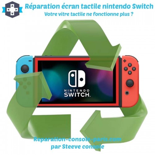 Réparation écran tactile nintendo switch