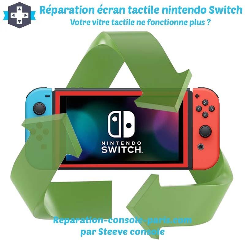 Réparation écran tactile nintendo switch