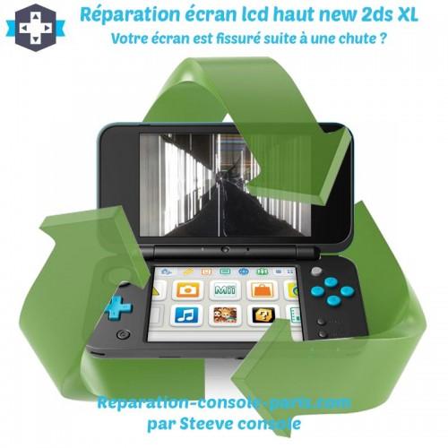 Réparation écran haut new 2DS XL