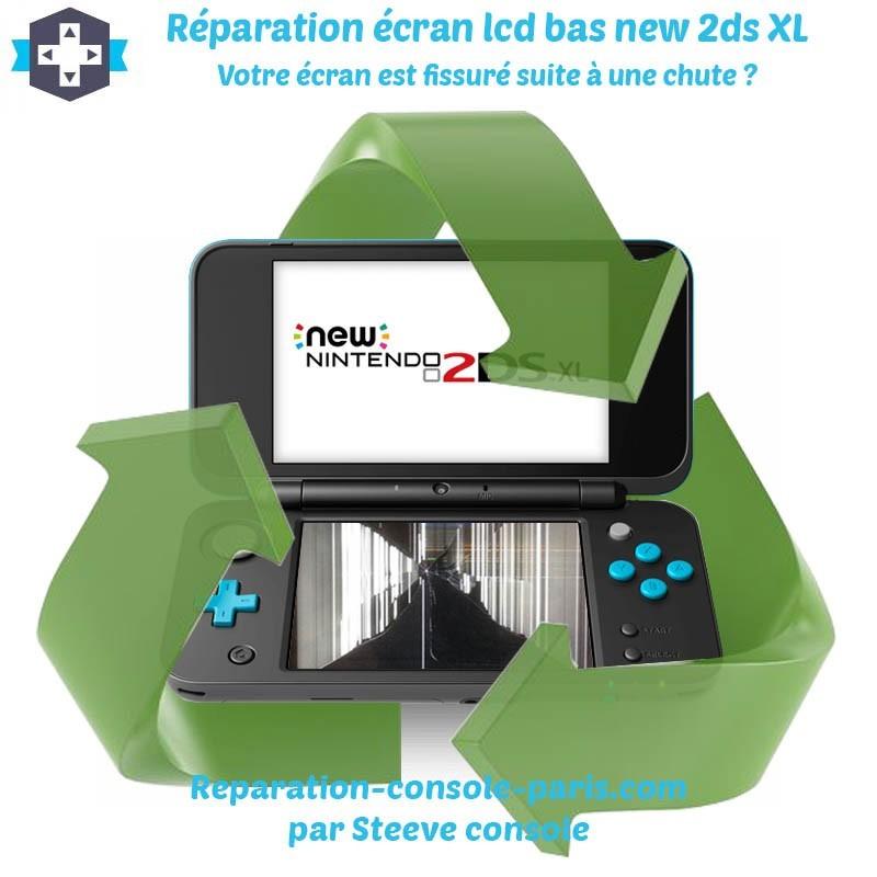 Réparation écran bas new 2DS XL