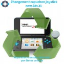 Réparation capuchon joystick new 2DS XL