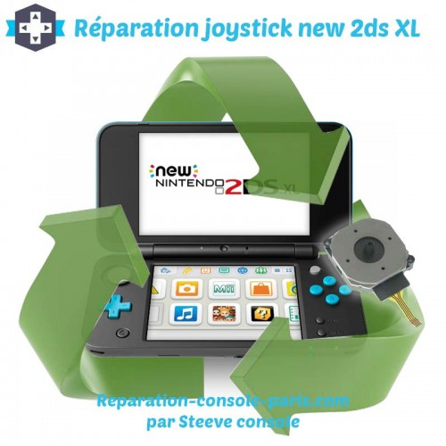 Réparation joystick new 2DS XL
