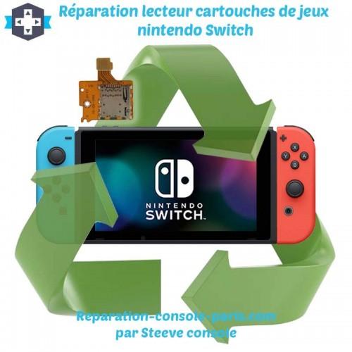 Réparation lecteur micro sd Switch