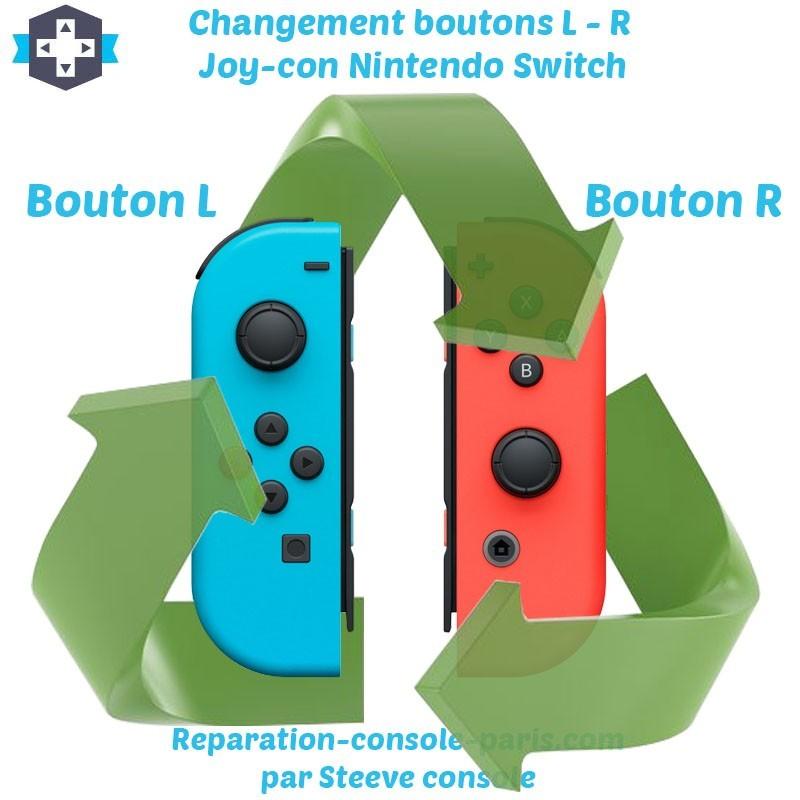 Réparation boutons L et R Joy-con Switch