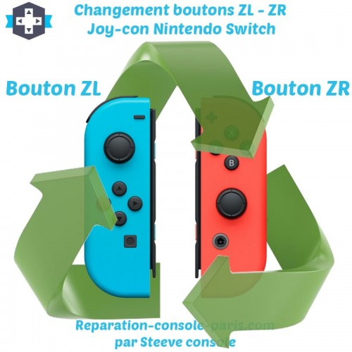 Réparation boutons ZL et ZR Joy-con Switch