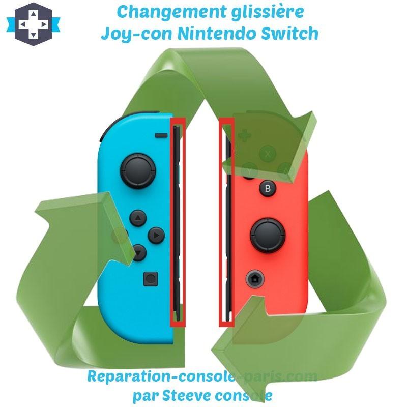 Réparation glissière Joy-con Switch