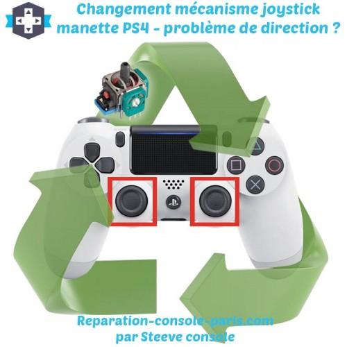 Réparation joystick manette PS4