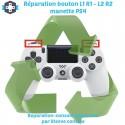 Réparation boutons L1 L2 R1 R2 manette PS4