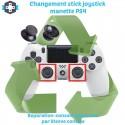 Changement stick manette PS4