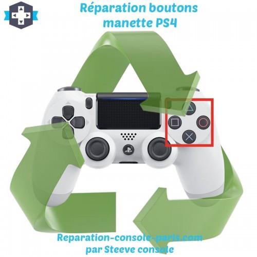 Réparation boutons manette PS4