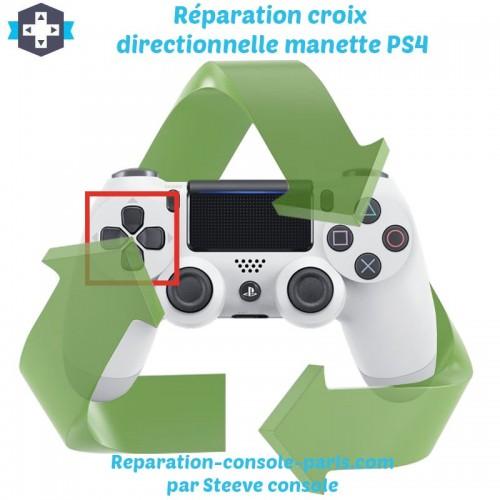 Réparation croix directionnelle manette PS4