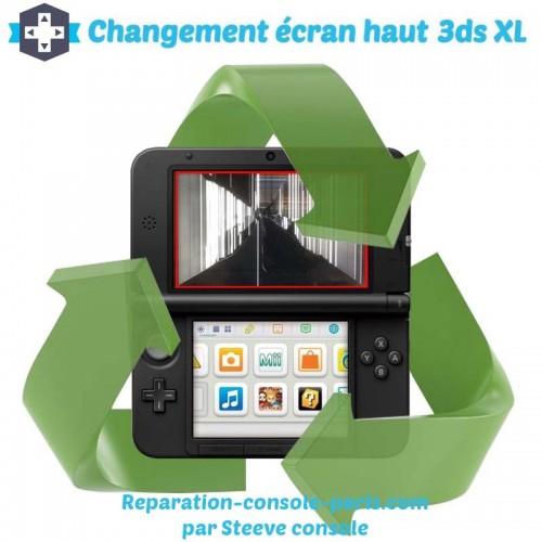 Réparation écran haut 3DS XL