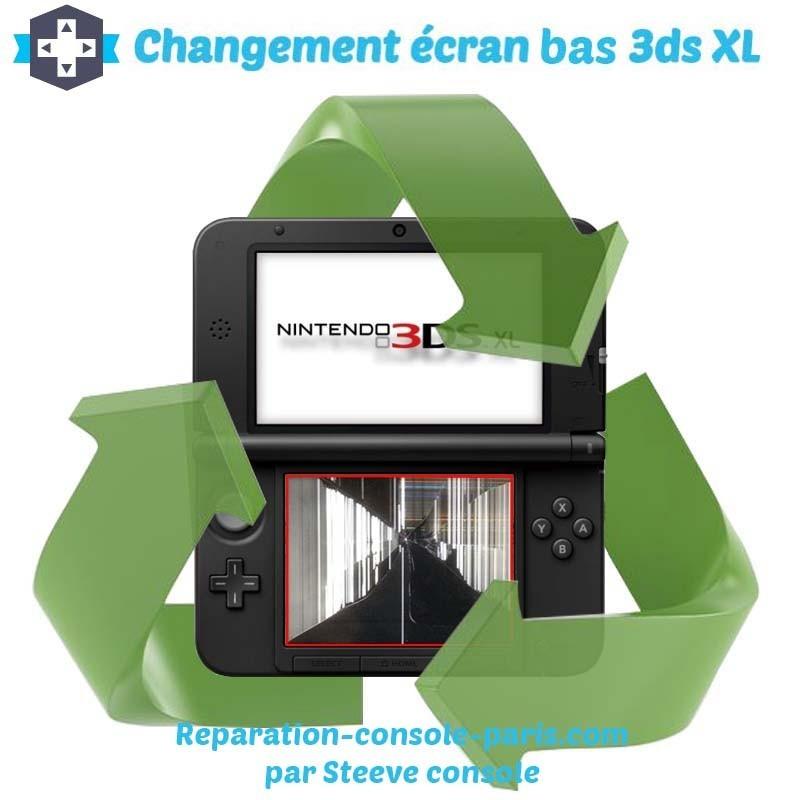 Réparation écran bas 3DS XL