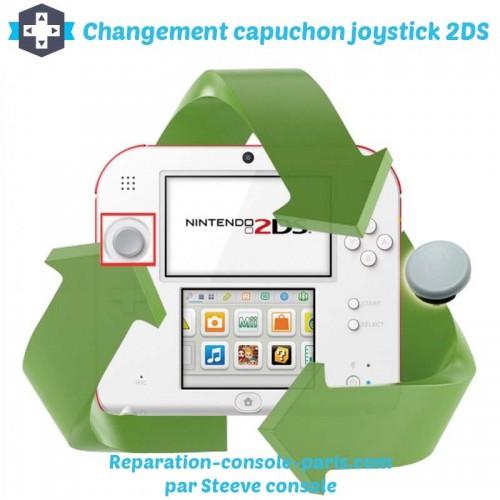 Réparation capuchon joystick 2DS
