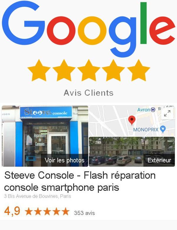 Steeve console avis google